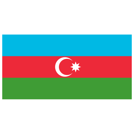 Az Azerbaijan Flag Icon