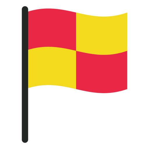 Football Offside Flag Icon
