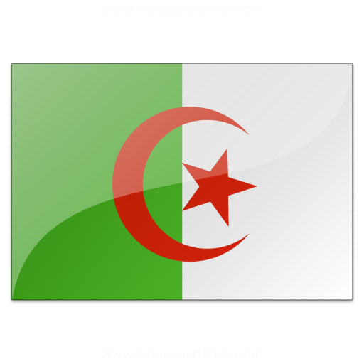 Iconexperience V Collection Flag Algeria Icon