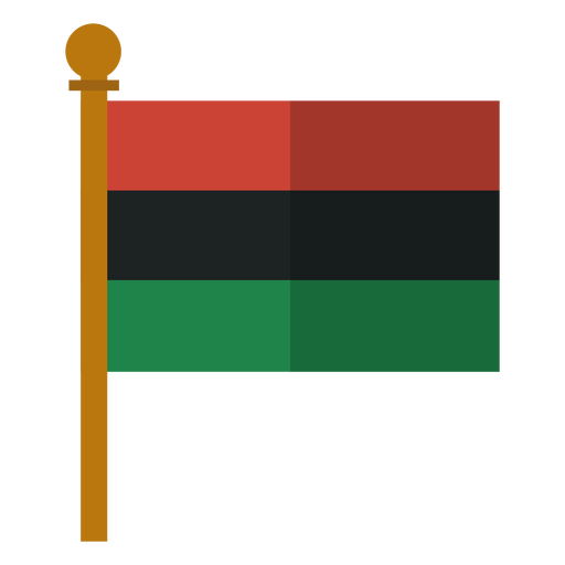 Kwanzaa Pan African Flag Icon