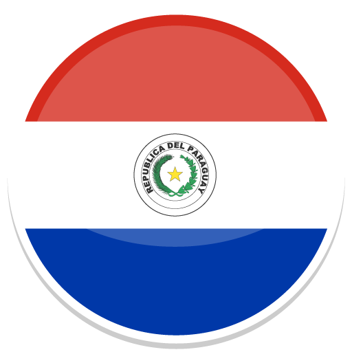 Paraguay, Flag, Flags Icon Free Of Round World Flags Icons