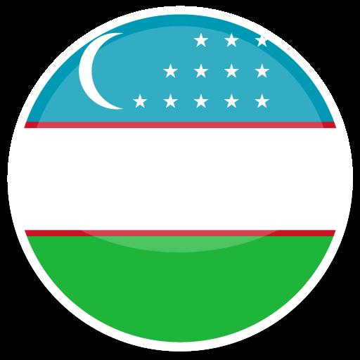 Uzbekistan, Flag, Flags Icon Free Of Round World Flags Icons