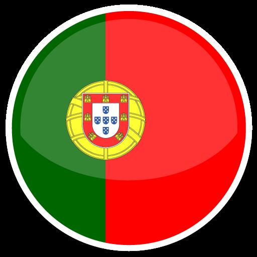 Flat Round World Flag Icon Set
