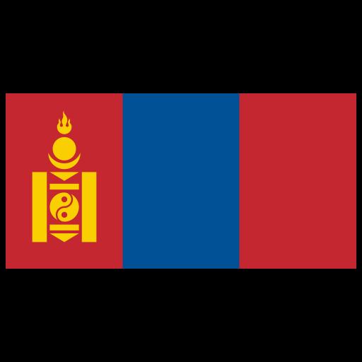 Mn Mongolia Flag Icon