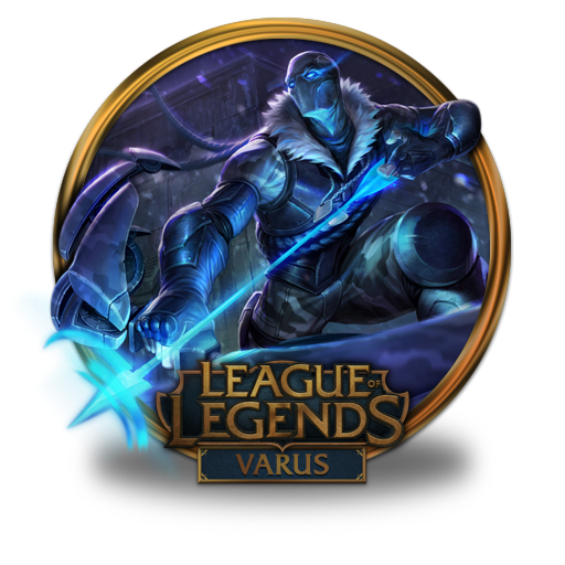 Arctic Ops Varus Icon League Of Legends Gold Border Iconset
