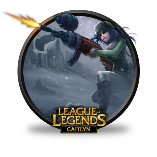 Caitlyn Arctic Warfare Icon League Of Legends Iconset