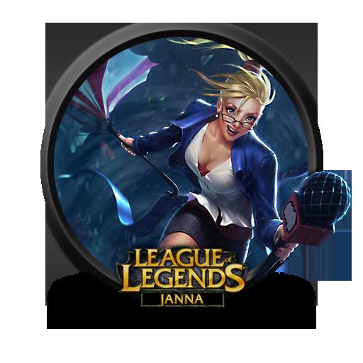 Janna Forecast Icon League Of Legends Iconset