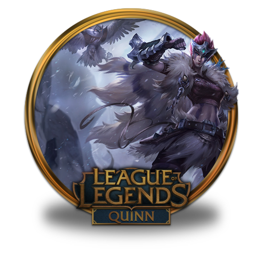 Quinn Woad Scout Icon League Of Legends Gold Border Iconset