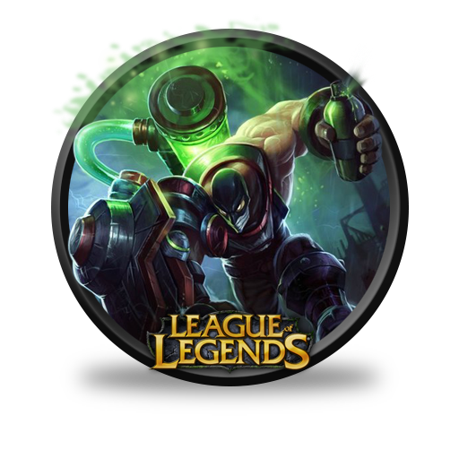 Singed Augmented Icon League Of Legends Iconset