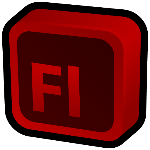 Adobe Flash Icon Cartoon Addons Iconset Hopstarter