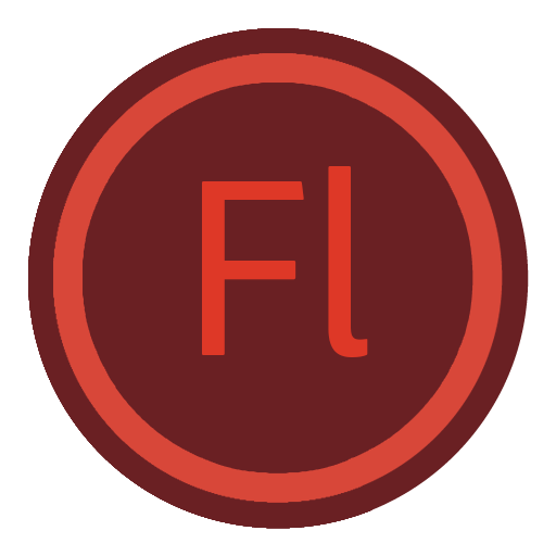 App Adobe Flash Icon The Circle Iconset Xenatt