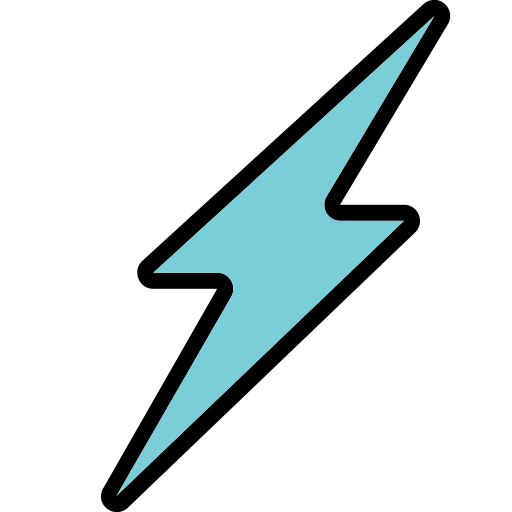 Best, Fast, Flash, Good, Light, Speed Icon