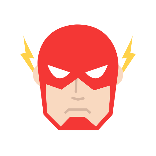 Dc Character, Speedster, Super Hero, The Flash Icon