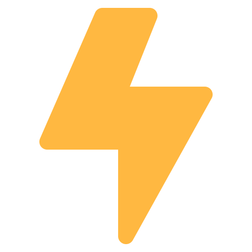 Energy, Flash, Lighning, Light, Thunder Icon