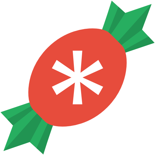 Candy Icon Free Of Christmas Flat Color Icons