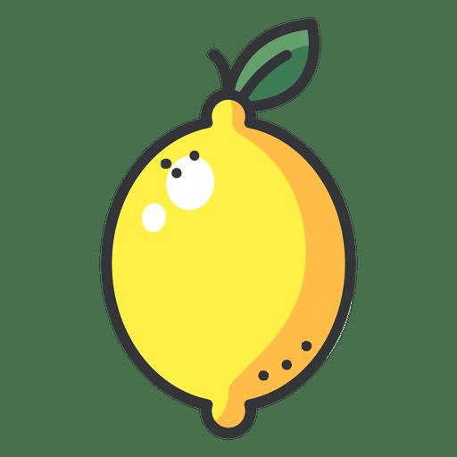 Lemon Color Icon