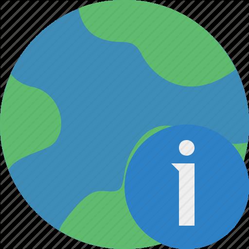 Earth, Information, Internet, Planet, Web, World Icon