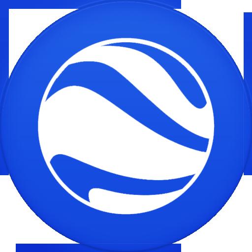 Google Earth Icon Circle Iconset