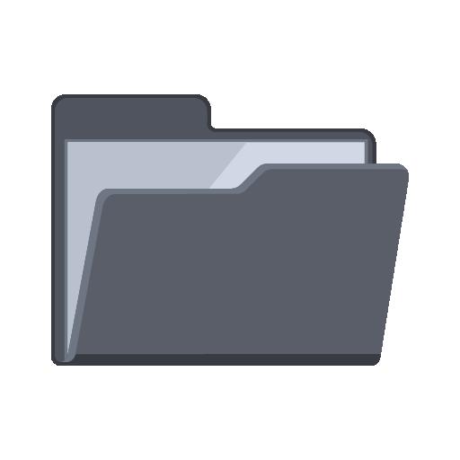 Flat Folder Icon Images