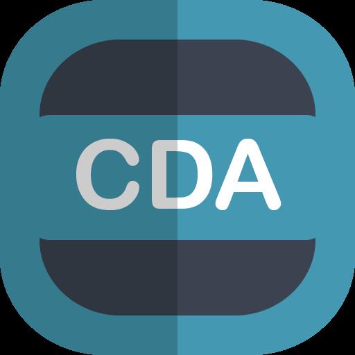 Cda Icon Free Of Free Flat Type Icons
