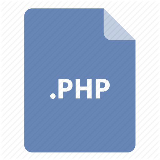 , Extension, Format, Type, Php Icon