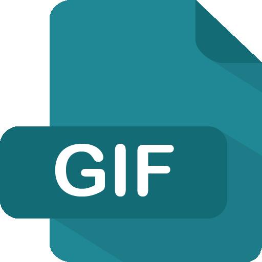 Gif Icon Flat Type Iconset Pelfusion