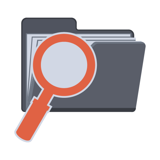 Search Folder Icon Flat Folder Iconset Pelfusion