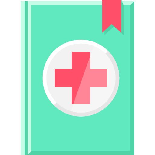 Medical Books Flat Icon
