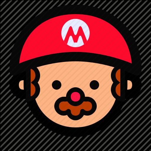 Avatar, Face, Flat Icon, Game, Man, Mario Bros, Person Icon