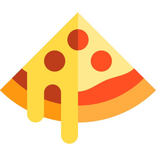 Pizza Flat Icon Huge Freebie! Download For Powerpoint