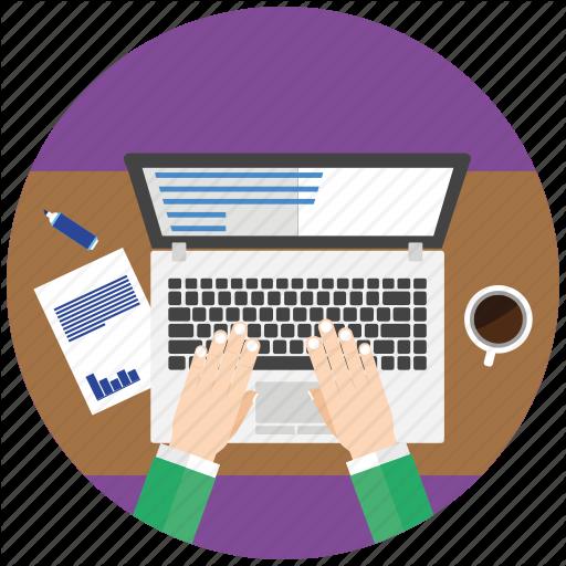 Developer, Development, Editor, Flat Icon, Officer, Seo, Work Icon