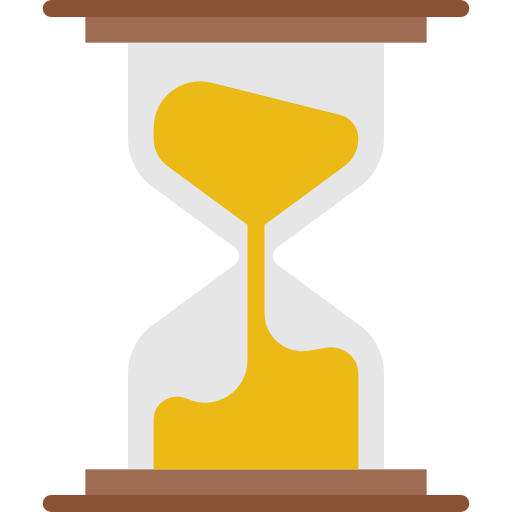 Hourglass Flat Icon Png Png Image