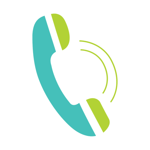 Telephone Flat Icon Transparent Png Vector Logo Image