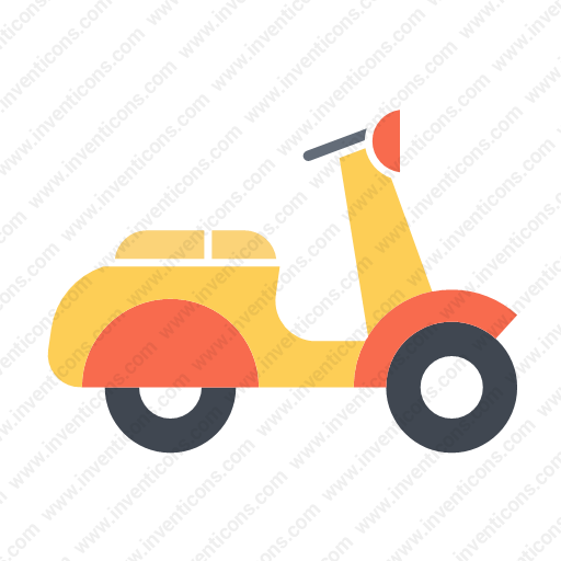 Download Transport,motorcycle,flat Icon Inventicons
