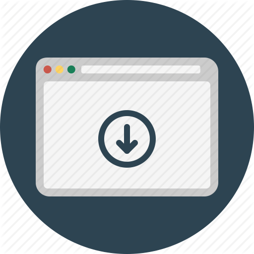 Browser, Download, Page, Web, Website, Window Icon
