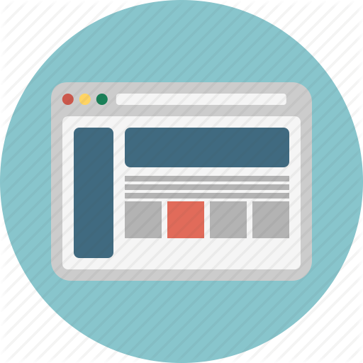 Browser, Internet, Page, Web, Website, Window Icon
