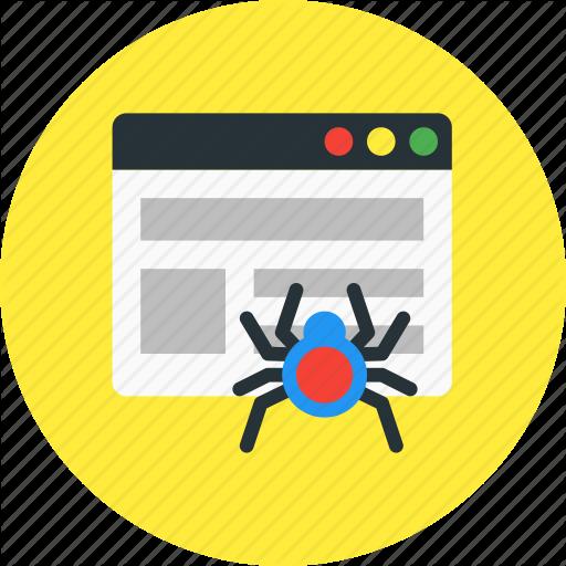 Crawler, Network, Page, Seo, Web, Website Icon