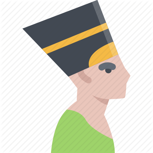 Nefertiti Vector Icon Huge Freebie! Download For Powerpoint