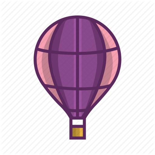 Air Balloon, Aircraft, Balloon, Flight, Fly, Rubber, Sky Icon