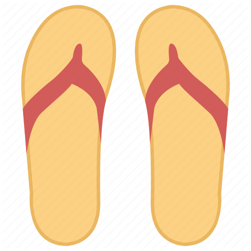 Day Off, Flip Flop, Footwear, Sandals, Slippers Icon