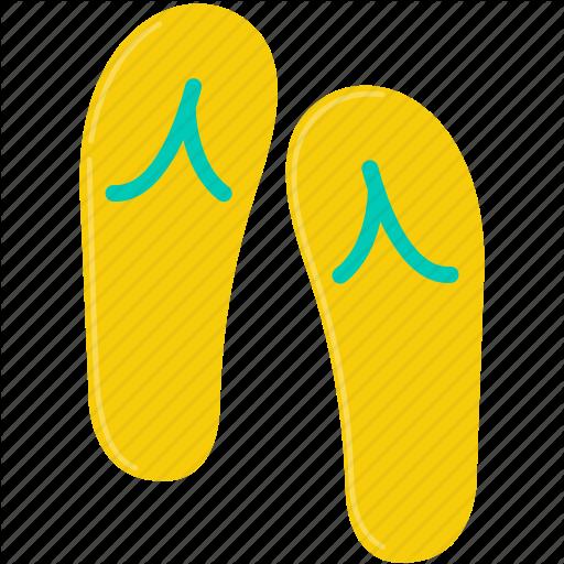 Flip Flop, Shoes, Summer Icon