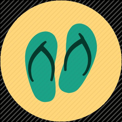 Flip Flops, Flip Shoes, Jandals, Slipper, Slipper Pair, Toilet