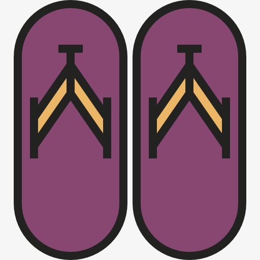 Pink Sandals, Flip Flops, Flip Flop, Cartoon Png Image And Clipart