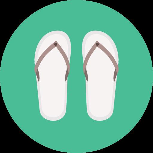 Summertime, Flip Flop, Fashion, Sandals, Footwear, Flip Flops Icon