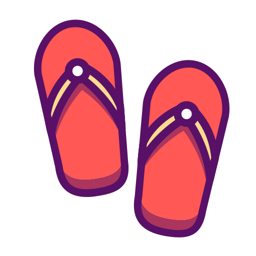 Shoes, Flip Flops Icon Free Of Summer Holidays