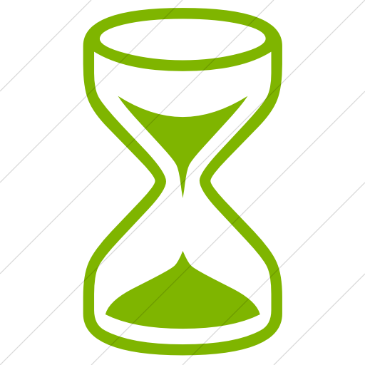 Simple Green Classica Hourglass Icon