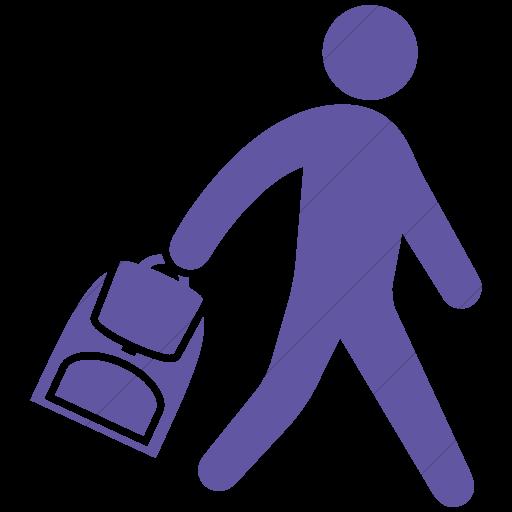 Simple Purple Ocha Humanitarians Activity Deployment Icon