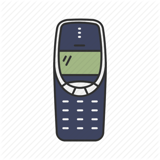 Cell Phone, Classic Phone, Nokia, Thirty Three Ten Icon