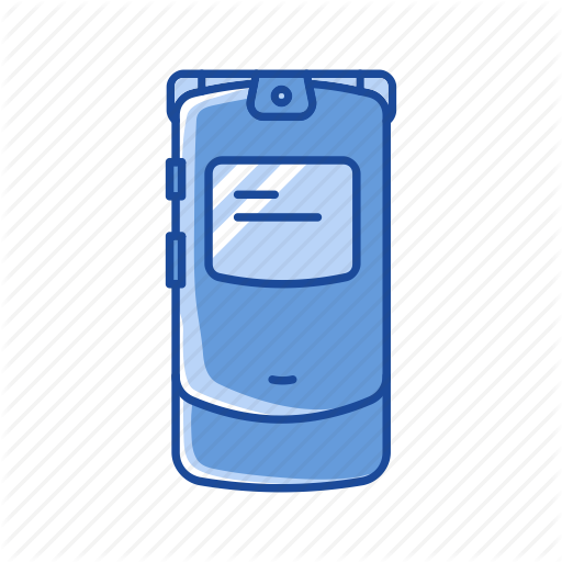 Cell Phone, Flip Phone, Phone, Razor Phone Icon