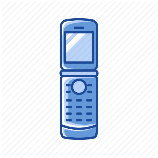 Cell Phone, Flip Phone, Phone, Telephone Icon